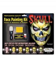 Skull Make Up Komplett Set