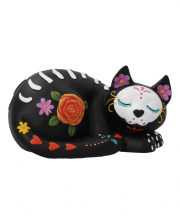 Sleepy Sugar Skull Cat 22cm