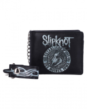 SLIPKNOT Flaming Goat Geldbörse