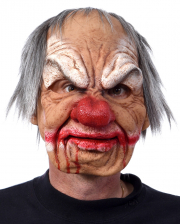 Smiley Horrorclown Maske