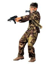 Soldier Child Costume Uniform