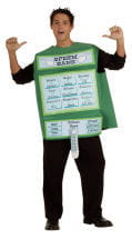 Samenbank Kostüm