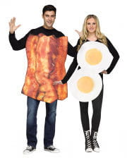 Fried Egg And Bacon Partner Costume