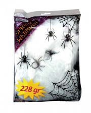 Cobwebs 228g With 2 Spiders