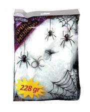 Spinnweben 228g mit 2 Spinnen