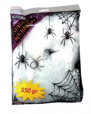 Spinningwebs 500g With 4 Spiders