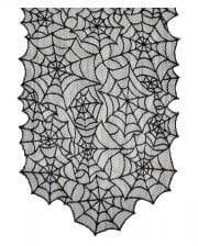 Halloween Spinnweben-Tischläufer