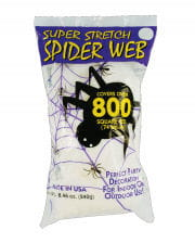 Halloween Spinnweben weiß 240g