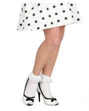 Lace socks white