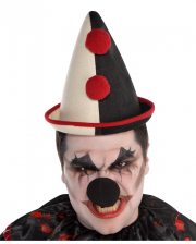 Pointed Clown Hat With Bobble