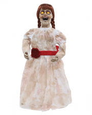 Spooky Ghost Girl Doll With Light & Sound