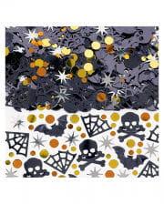 Spooky Halloween Konfetti - Metallic