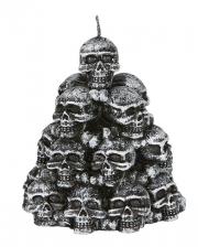 Spooky Totenschädel Kerze