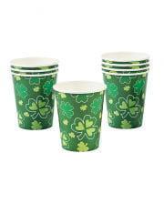 St. Patrick's Day Cloverleaf Mug 8 Pcs.