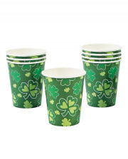 St. Patrick's Day Pappbecher 8 St.