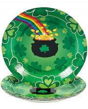 St. Patrick`s Day Paper Plate 8 Pcs.