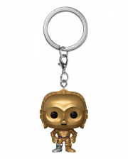 Star Wars C-3PO Keychain Funko Pocket POP!