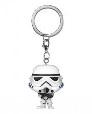 Star Wars Stormtrooper Schlüsselanhänger Funko Pocket POP!