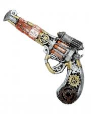 Steampunk Pistol Made Of Foam Latex