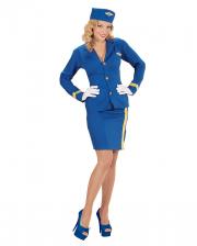Stewardess Costume with Hat