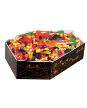 Halloween Candy Bowl In Coffin Design