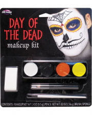 Day of the Dead Mustache Man Make-up