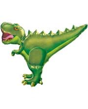 T-Rex Foil Balloon Green XXL