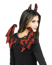 Devil Set With Reversible Sequins