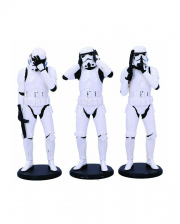 Three Wise Stormtrooper Figuren