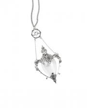 KILLSTAR Death Kiss Vial Necklace