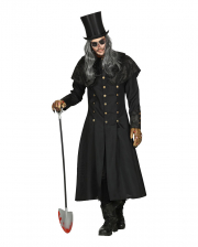 Gravedigger Costume Coat With Collar For Men
