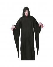 Gravedigger Robe With Hood And Long Sleeves