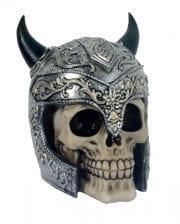 Skull With Horned Helmet
