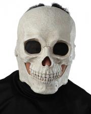 Skull Maske mit beweglichem Kiefer
