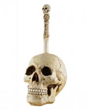 Skulls Toilets Brush Holder With Brush