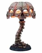 Skull Lamp With Spine