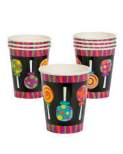 Trick or Treat paper cups
