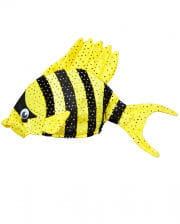 Tropical Fish Hat Yellow