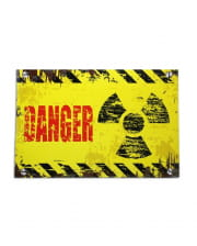 Danger door plate