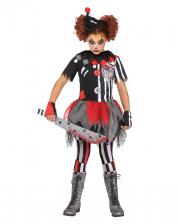 Creepy Circus Clown Children Costume
