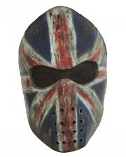 Union Jack Hockey Maske