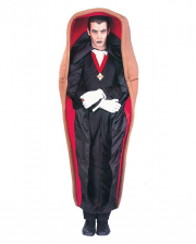 Vampire In Coffin Costume