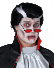 Vampire Wig Black And White