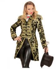 Venetian ladies dress suit gold-black