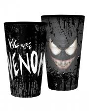 Venom Glass - Marvel