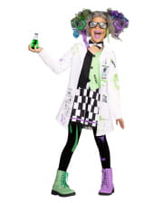 Crazy Scientist Girl Costume