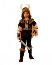 Vikinger Krieger König Kostüm für Kinder
