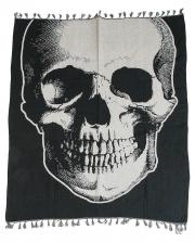 Vintage Skull Halloween Tagesdecke