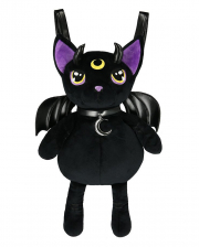 Violet Demonia Cats Plush Backpack