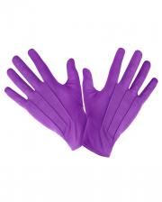 Violet Costume Gloves